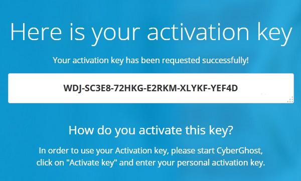 Cyberghost 5 Premium Plus VPN Activation Key
