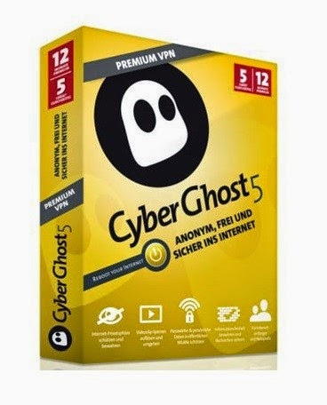 Cyberghost 5 Premium Plus VPN Crack