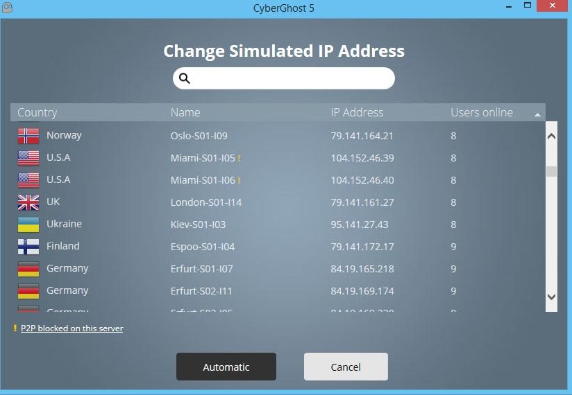 Cyberghost 5 Premium Plus VPN Keygen
