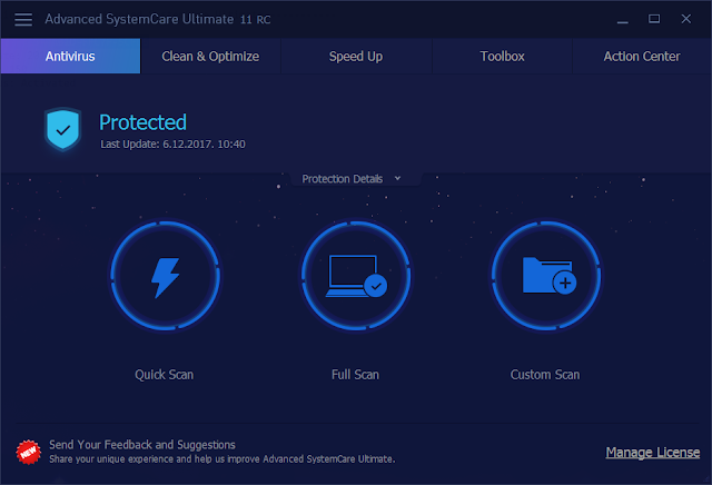 IObit Advanced SystemCare Ultimate 11.0.1.58 Crack