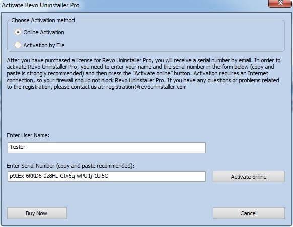 Revo Uninstaller Pro 4.2.1 Serial Number