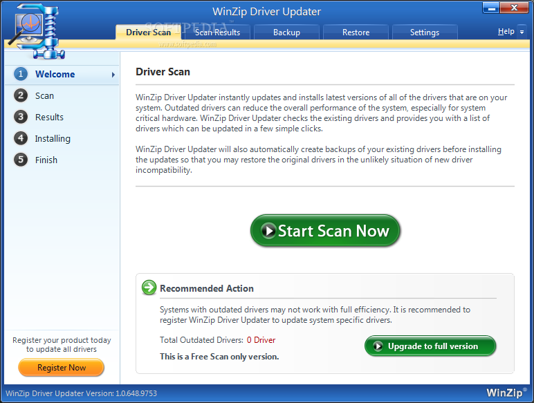WinZip Driver Updater 5.18.0.12 Patch