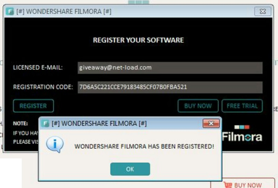 registration code for filmora 8.5.3