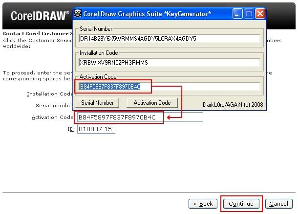 corel draw x8 keygen only