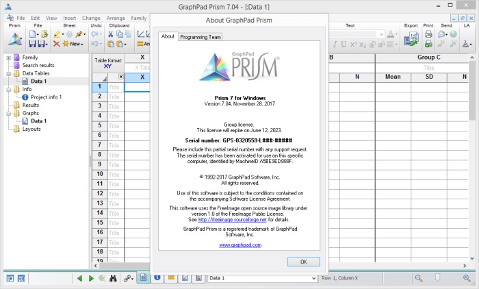 GraphPad Prism 7.04 Crack