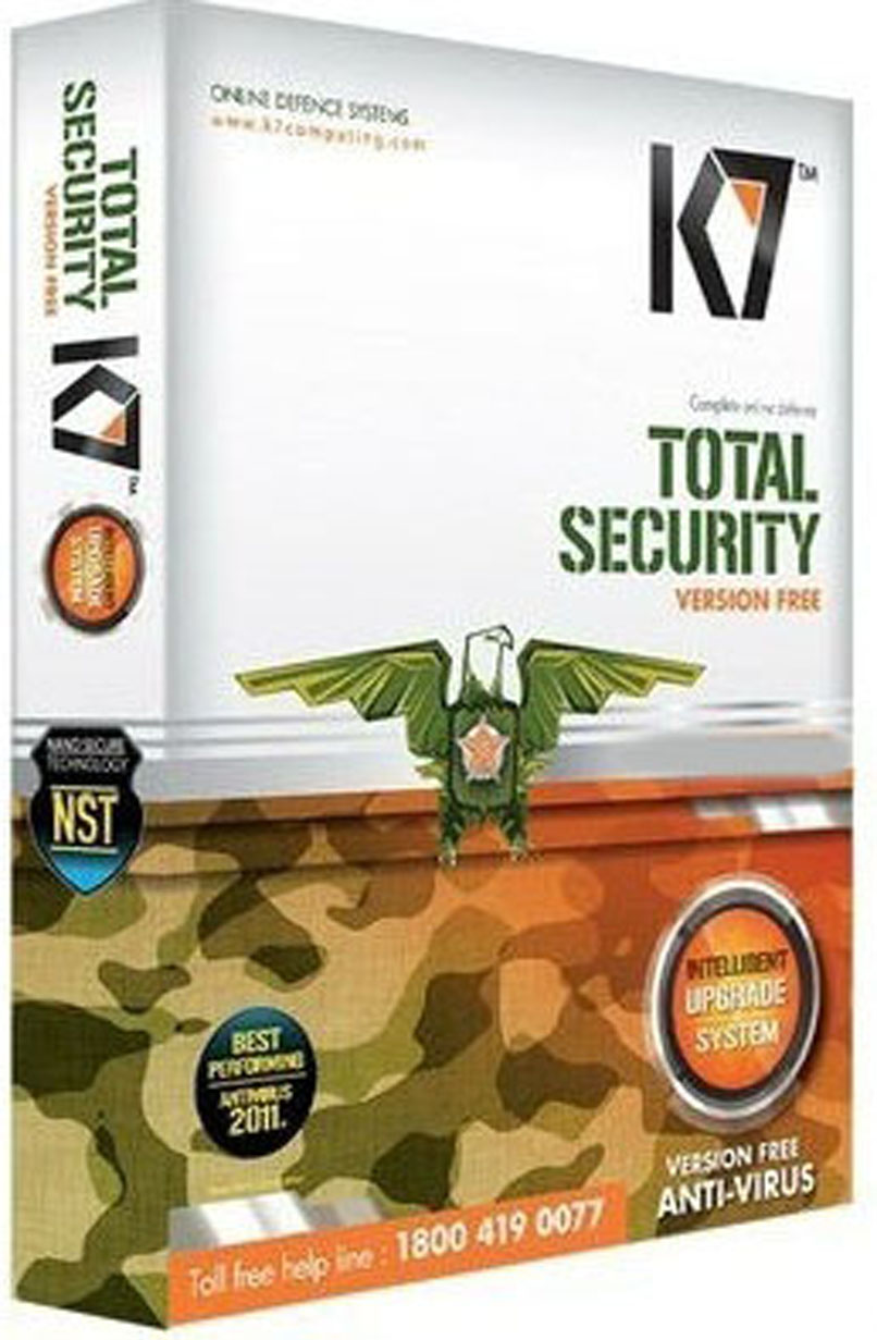 K7 Total Security 2021 Crack With Activation Key Latest Free Download