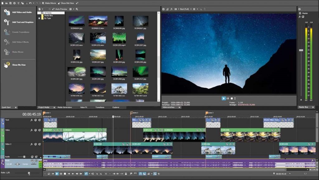 MAGIX VEGAS Movie Studio Platinum Crack