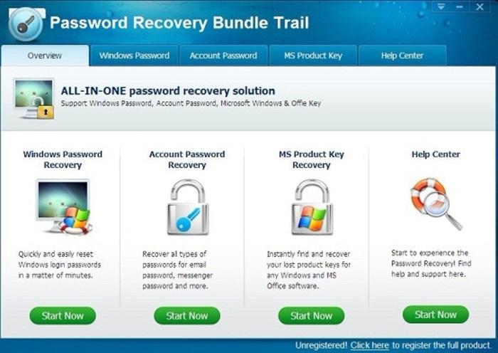 Password Recovery Bundle 2018 Serial Key