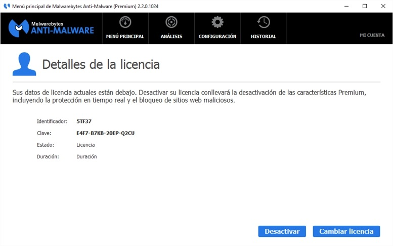 Malwarebytes Anti Malware 3.4.5 Premium Key