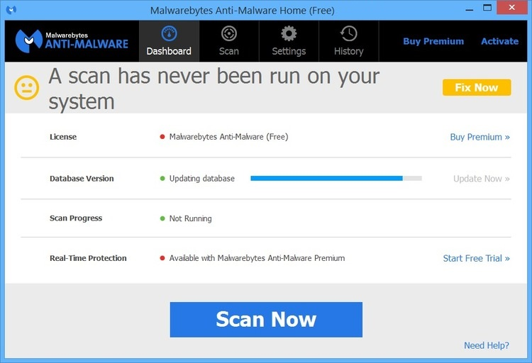 Malwarebytes Anti Malware 3.4.5 Serial Key