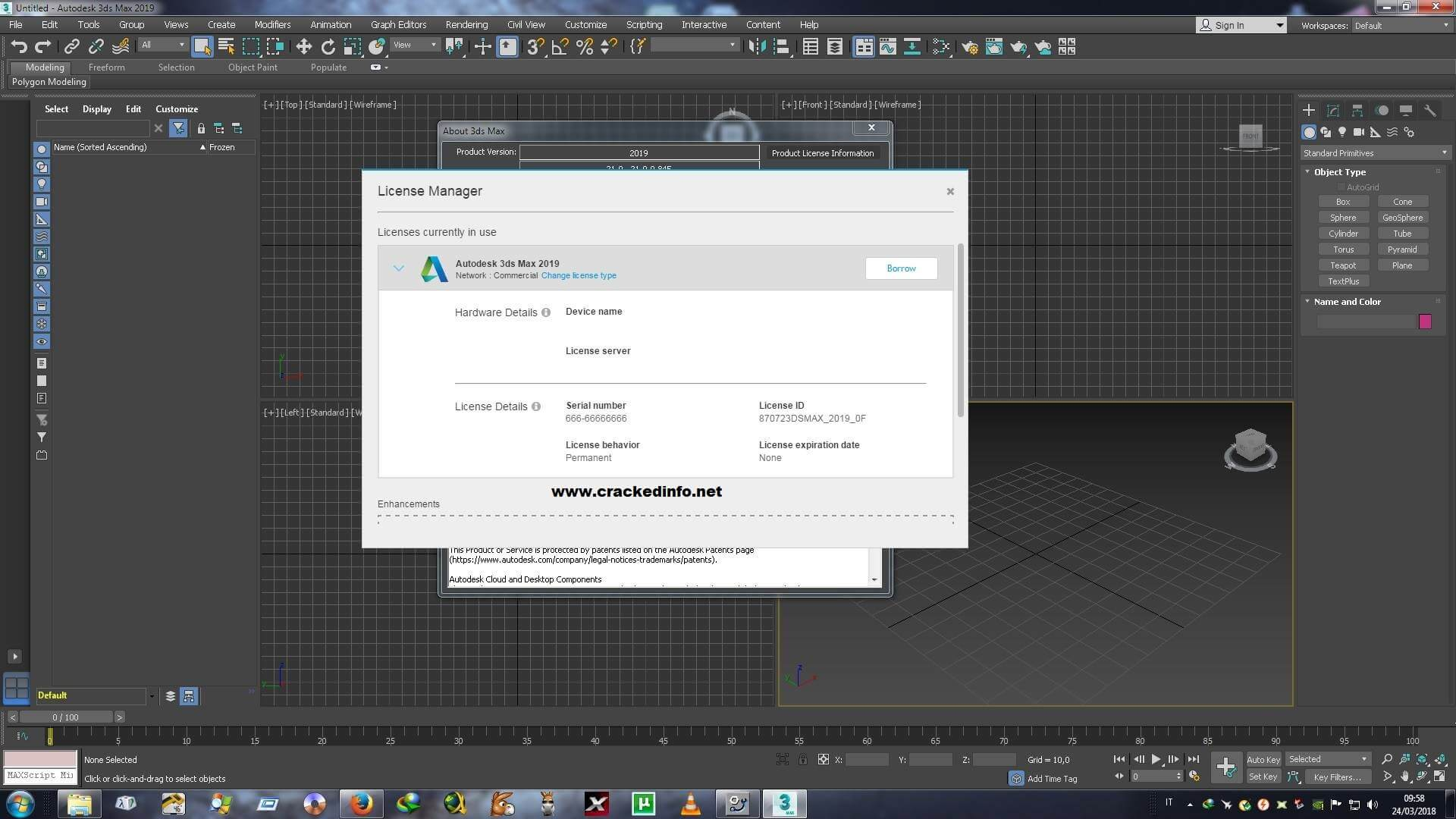 Autodesk 3ds Max 2019 Serial Number