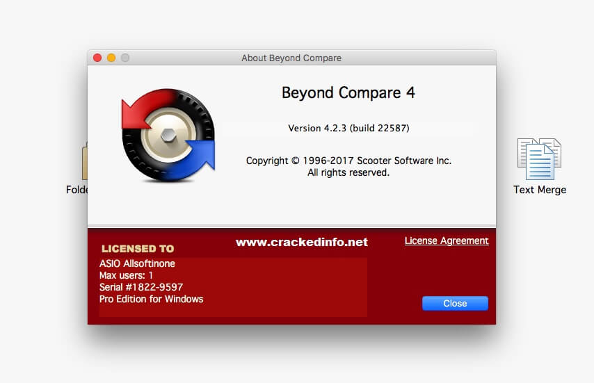 Beyond Compare 4.2.6 License Key