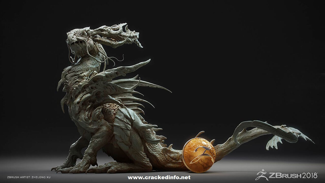 Pixologic ZBrush 2018.1 Full Version