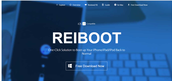 Tenorshare ReiBoot Pro Crack 7.1.4.0 With Full Registration Code Latest