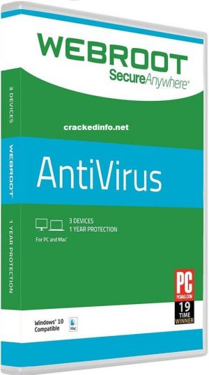 Webroot SecureAnywhere Antivirus 2020 KeyCode