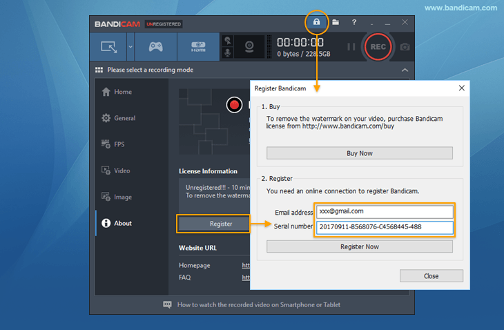 Bandicam 4.3.0 Crack plus Activation Key 2019 free