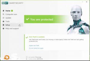 ESET Smart Security 14.1.20 Crack + Premium License Key (2021)