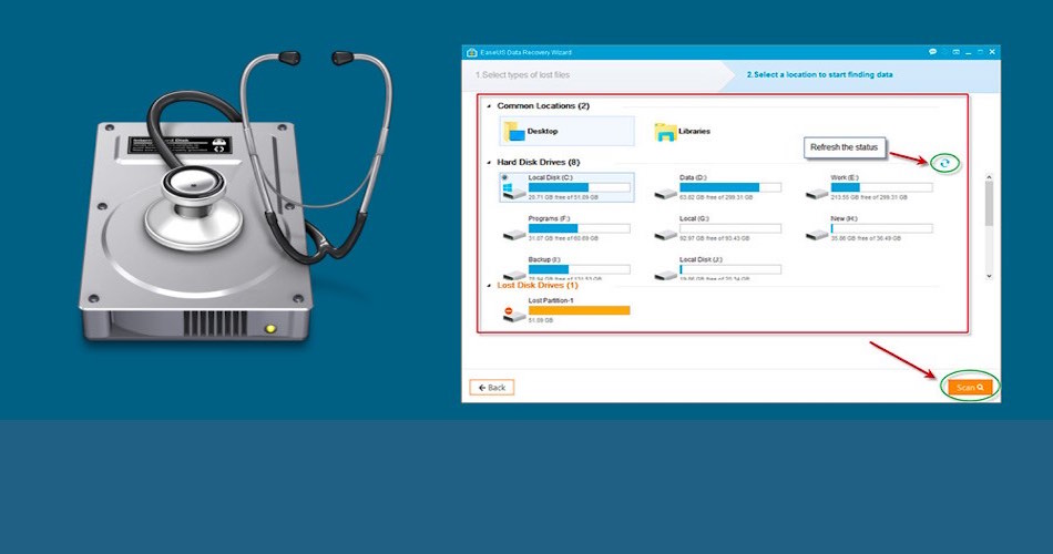 EaseUS Data Recovery License Code free