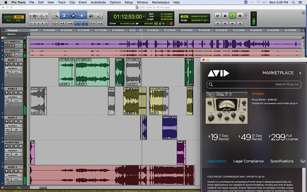 Avid Pro Tools 12.8.3 Crack Mac & Serial Key Free Download