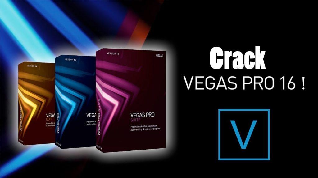 Vegas Pro 16 Suite Crack plus Keygen Free Download