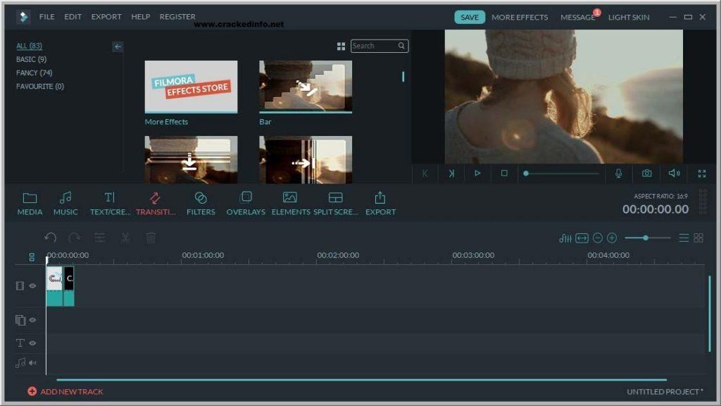 Wondershare Filmora 9.0.7.2 Crack plus Key Code