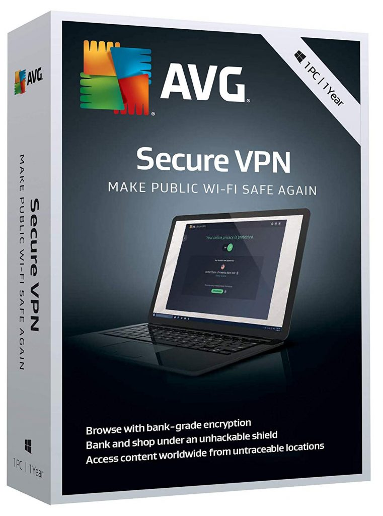 AVG Secure VPN Key 2019 plus Crack free