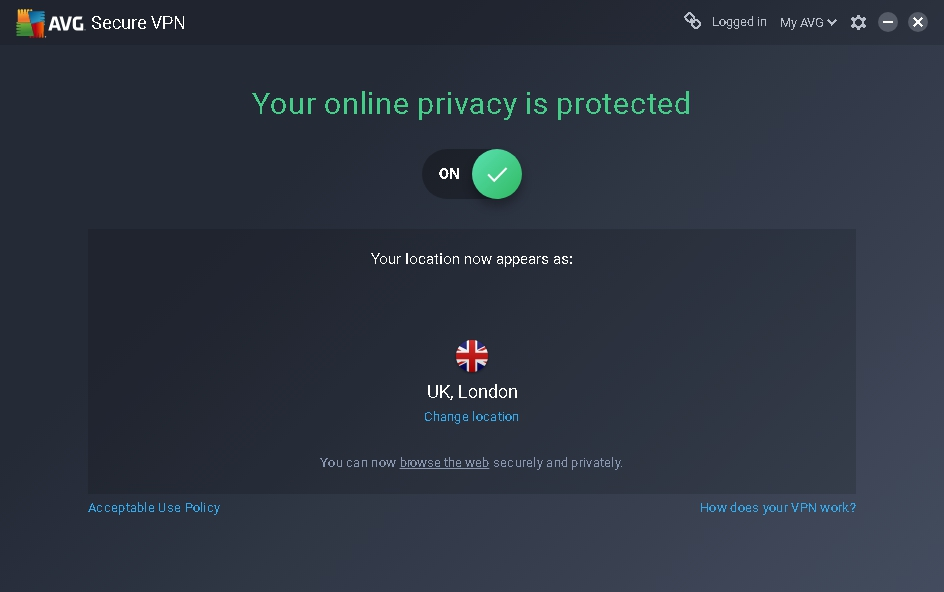 AVG Secure VPN Key 2019