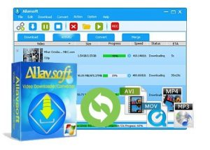 Allavsoft Video Downloader Converter 3.22.9.7563 Crack With Keygen