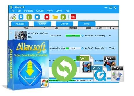 Allavsoft Video Downloader Converter 3.22.9.7563 Crack With Keygen