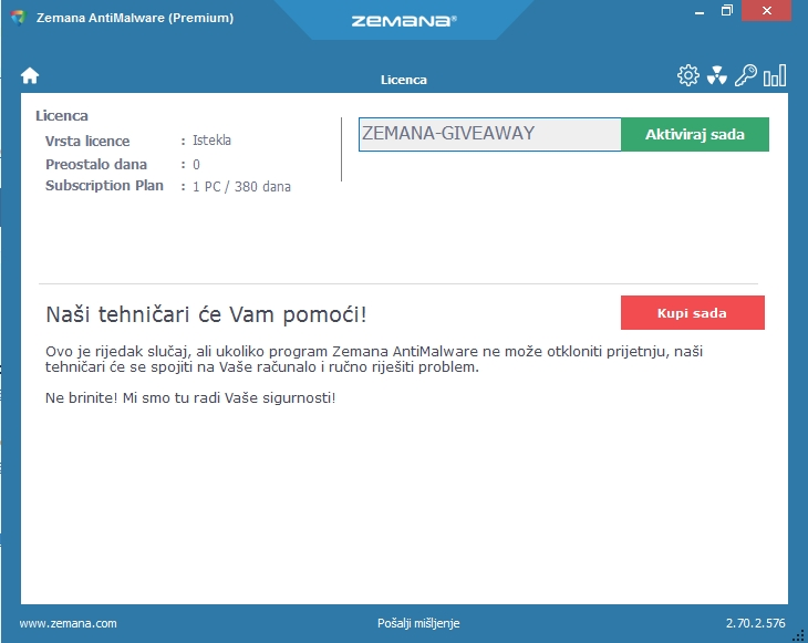 Zemana Antimalware Key 2020 plus Crack