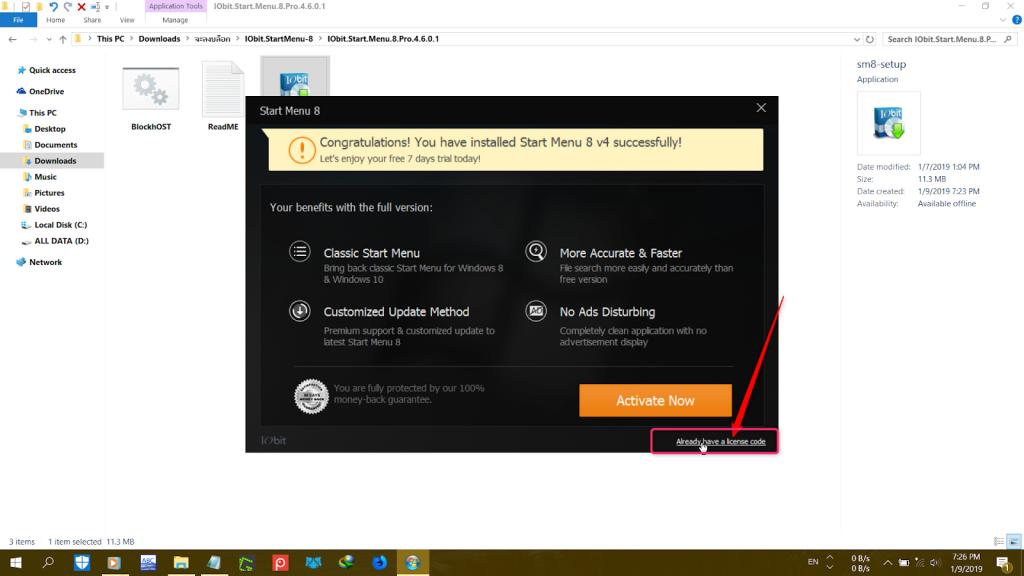 IObit StartMenu Crack 8.4 + Key Pro Full Download