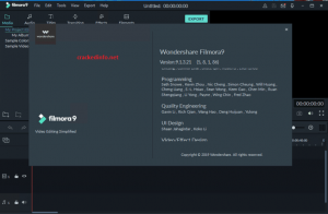 WondershaWondershare Filmora Crack 9.6.0.18 With Key Download