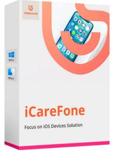 Tenorshare iCareFone 6.0.8.4 Crack With Serial Key {Win/Mac} Latest Version