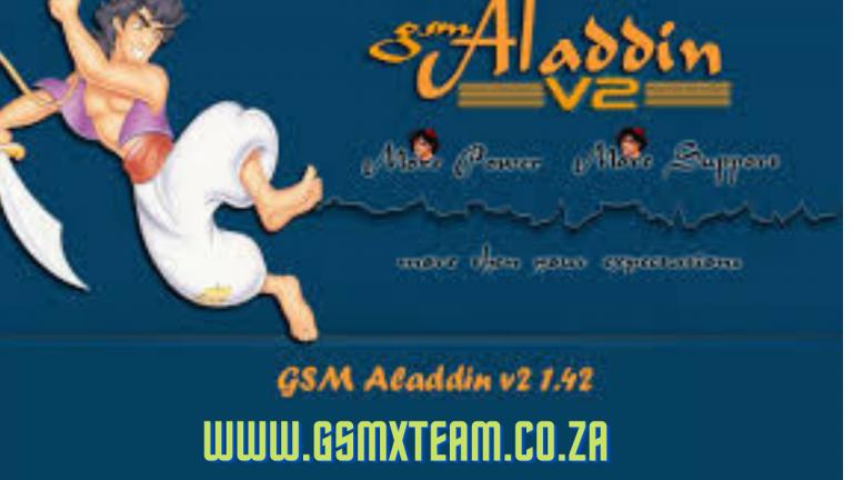 GSM Aladdin Crack V2 1.42 Full Version (2021) Free Download